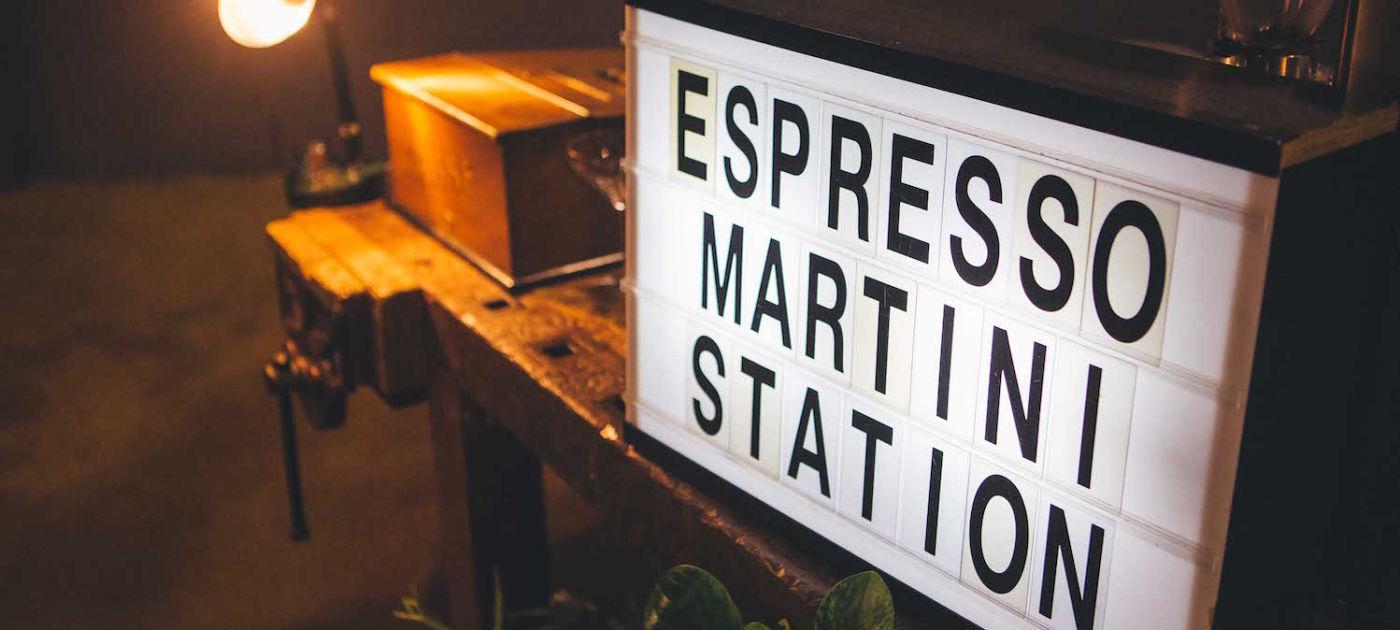 Espresso Martini Station