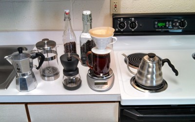 Any brew method can make the perfect cup of coffee