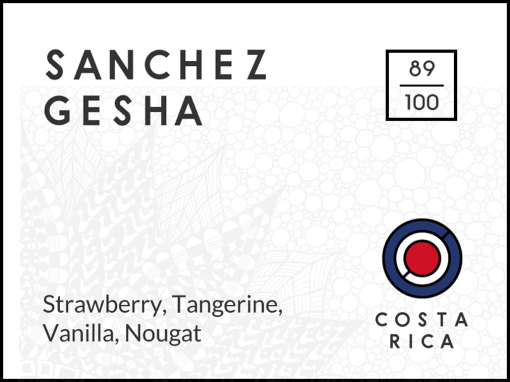 Sanchez Gesha, Costa Rica